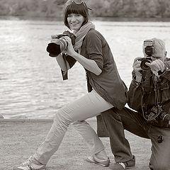 """фото """"Режиссер  и ассистент..."""""""