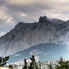 "photo ""Foggy morning near Ai-Petry mountain"""