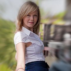 """фото """"Портрет Фотографини, или Девушка-Весна..."""""""