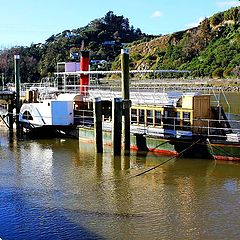 """photo """"Waimarie - old river steamer."""""""