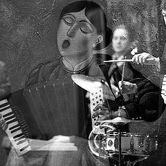 """фото """"джаз в сельском клубе"""""""