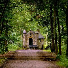 """photo """"chapel in the woods"""""""