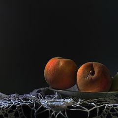 """фото """"Натюрморт с персиками и дыней No.2"""""""