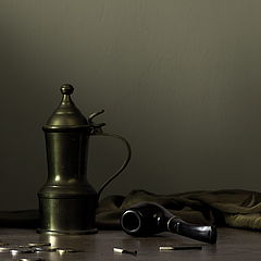"""фото """"Натюрморт с трубкой No.2"""""""