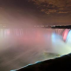"""photo """"Niagara at night"""""""
