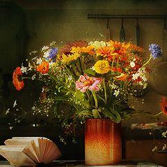 """фото """"Цветы на кухне"""""""