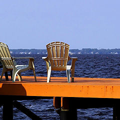 """photo """"Chairs with the view"""""""