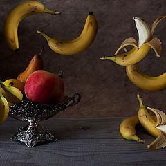 """фото """"Банановый танец No.1.Левитации."""""""