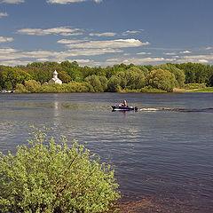 """photo """"Volkhov-river"""""""
