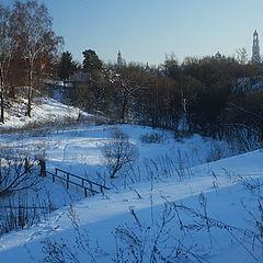 "фото ""Три березы зимой"""