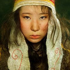 "фото ""Девочка киргизка"""