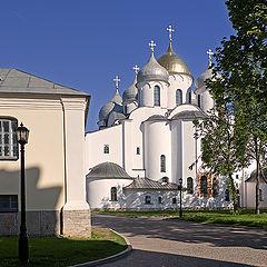 """photo """"The Cathedral of St. Sophia in Velikiy Novgorod"""""""