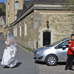 """photo """"A bride ran away"""""""