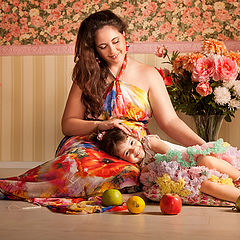 """фото """"Мама и дочь"""""""