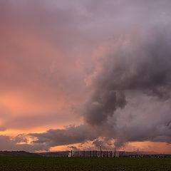 """фото """"Smoke and clouds"""""""