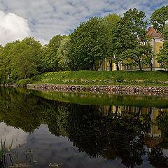 "photo ""The mirror surface of the river Vuoksa"""