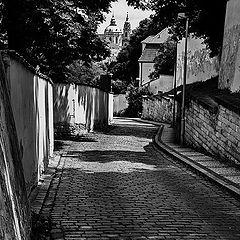 """photo """"Башни а улица"""""""