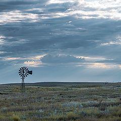 "фото ""Prairie windmill"""