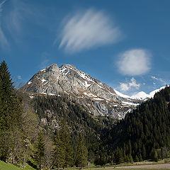 """фото """"Облачко в горах"""""""