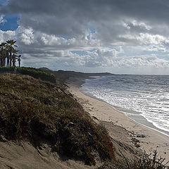 """фото """"Осенний пляж"""""""