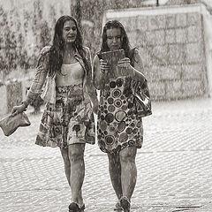 """фото """"читая музыку дождя"""""""