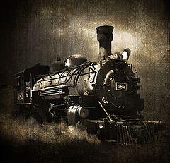 """фото """"поезд из прошлого"""""""