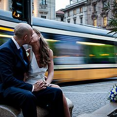 "photo ""Just married in Milan"""