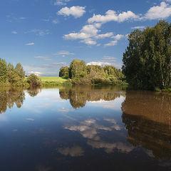 """фото """"Отражения лесного озера"""""""