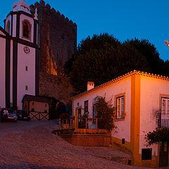 "фото ""Castle of Obidos"""