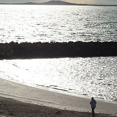 "photo ""alone on the beach"""