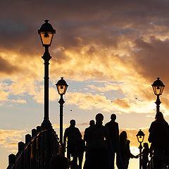 "photo ""Graphics sunset"""