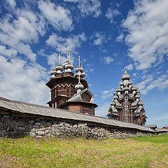 """photo """"Kizhi. Temples."""""""