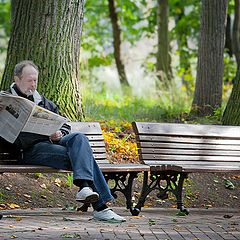 "photo ""Saturday reading ..."""