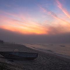 """фото """"Рассвет туманного межсезонья..."""""""