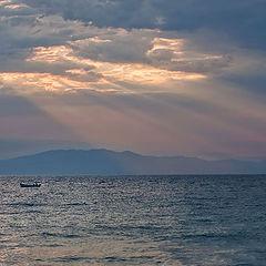 """фото """"Солнце ласково коснулось лучиком воды..."""""""