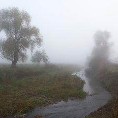 """фото """"Предрассветный туман"""""""