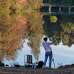 """photo """"autumn fishing"""""""