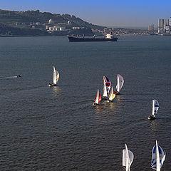 "фото ""Lisbon Harbour"""