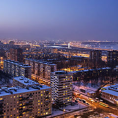 """photo """"Winter from 25 floor"""""""