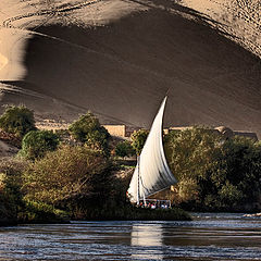 "фото ""Sailing on the Nile."""