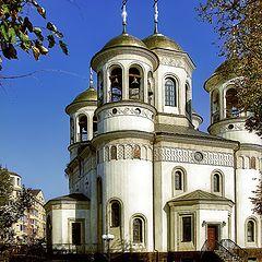 "фото ""Церковь в Звенигороде"""