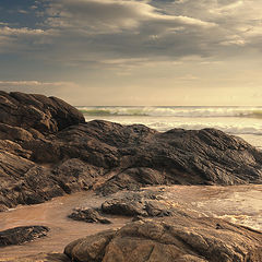 "фото ""Волны и камни"""