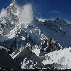"""photo """"Musharbrum peak"""""""