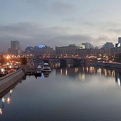 """фото """"Москва. Вид на Бородинский мост."""""""