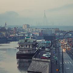 "фото ""туман в городе"""