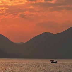 """photo """"Morning on the Aegean sea"""""""