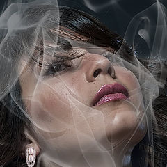 """фото """"Behind the smoke"""""""