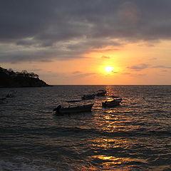 """фото """"Sunset in Puerto Vallarta"""""""