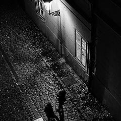 """photo """"Ночная фонарь a фигуры"""""""