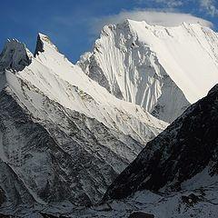 """фото """"Вид на часть вершины Chogholisa.."""""""